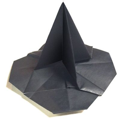 Origami Witch's hat