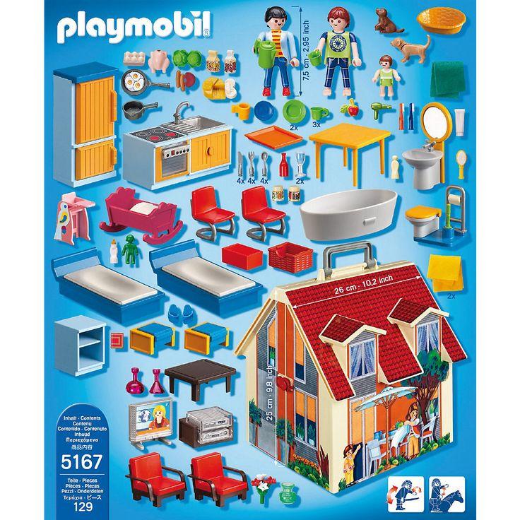 PLAYMOBIL® 5167 Neues Mitnehm-Puppenhaus (Aktionsartikel), PLAYMOBIL Dollhouse | myToys
