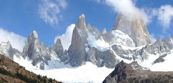 End of the Earth - Lonely Planet. Patagonia.