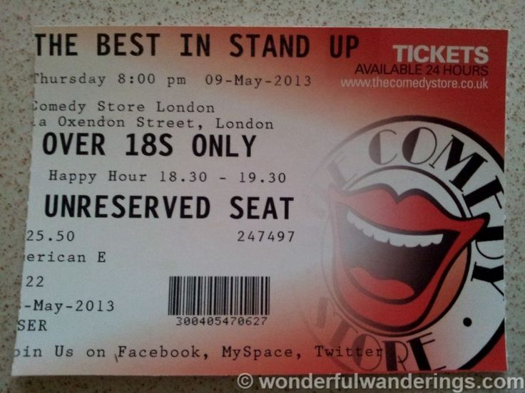The Comedy Store: a great night out in London
