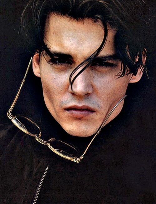 Depp: This man is a mystery to me. I love his acting ability, but as a person, he seems so layered...