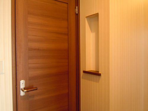 やる気の無いweb内覧会 5 ちょっと頑張った1階トイレ 建具