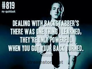 This guy is so deep #eminem #slimshady #quotes #quotestoliveby #lyrics #songs #music #rap #rapper #backstabbers #strong #quote #quoteoftheday #poet #real #realshit Amazon Wordpress! http://streamstore.net/