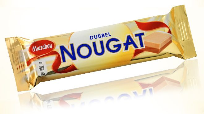 Marabou - - Dubbel Nougat. One of my chocolate favorites! If you ever visit Sweden - try it!