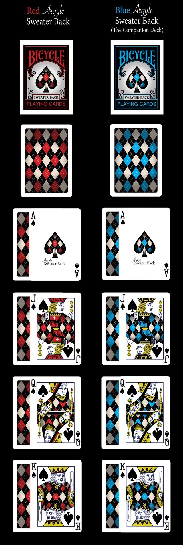 Bicycle® Sweater Back Playing Cards by Eric Twiddy — Kickstarter