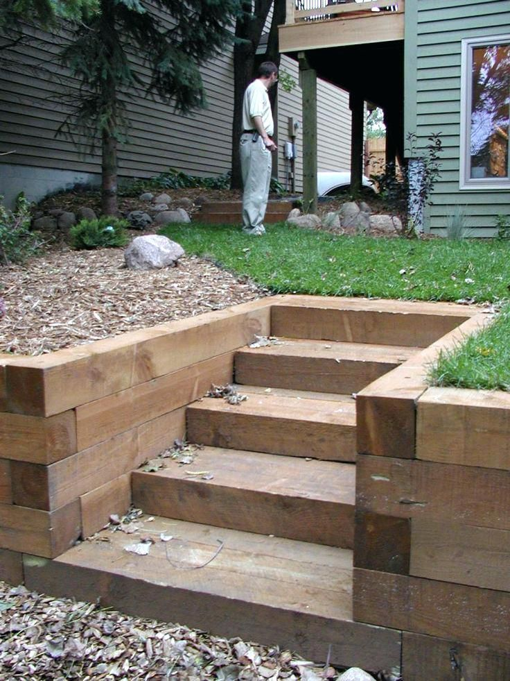 How To Build Raised Flower Beds With Landscape Timbers Garden