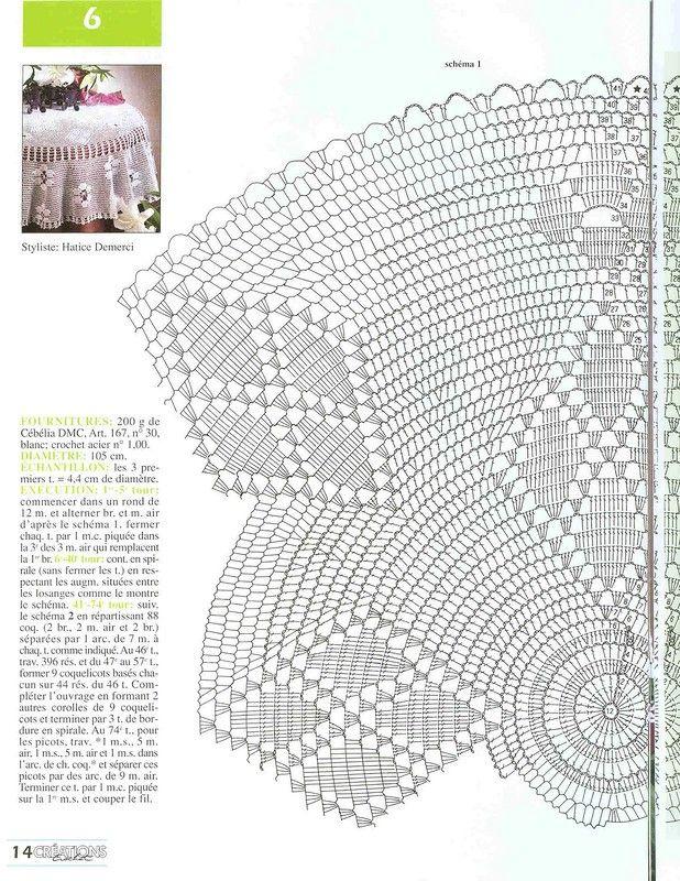 Журнал: Crochet Creations №14 2003 - Вяжем сети - ТВОРЧЕСТВО РУК - Каталог статей - ЛИНИИ ЖИЗНИ