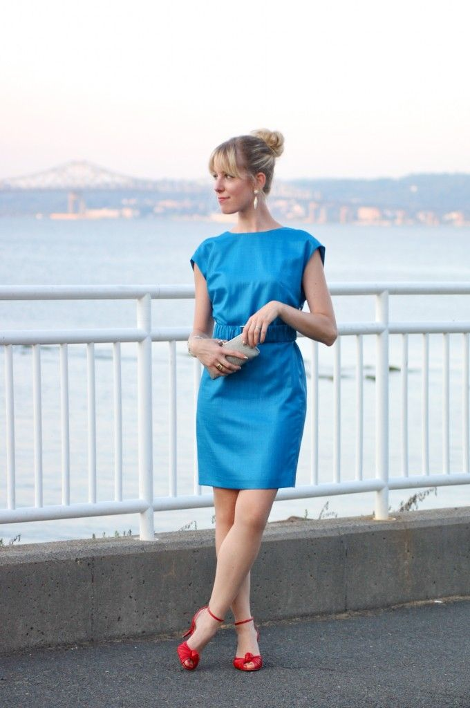 Classic shift dress with an edge perfect for a summer for Shift dress for a wedding