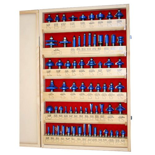 Buy Router Bit Master Set 66pc 1/2in. Shank at Busy Bee Tools