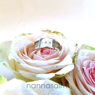 custom made horsehair ring  made with your own horse´s hair www.nannasalmi.com