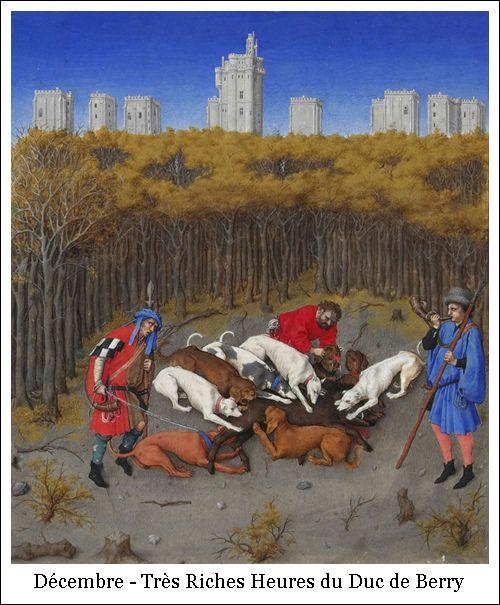 Décembre - Très Riches Heures du Duc de Berry