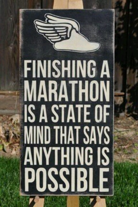 26.2: what you feel when you finish #marathon