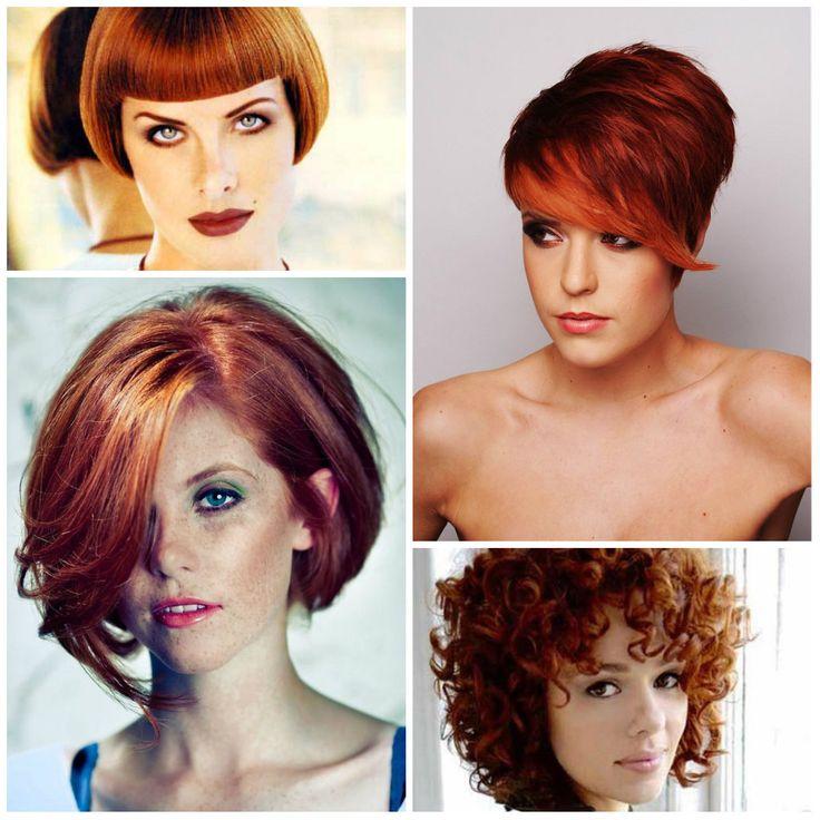 short auburn hairstyles 2017