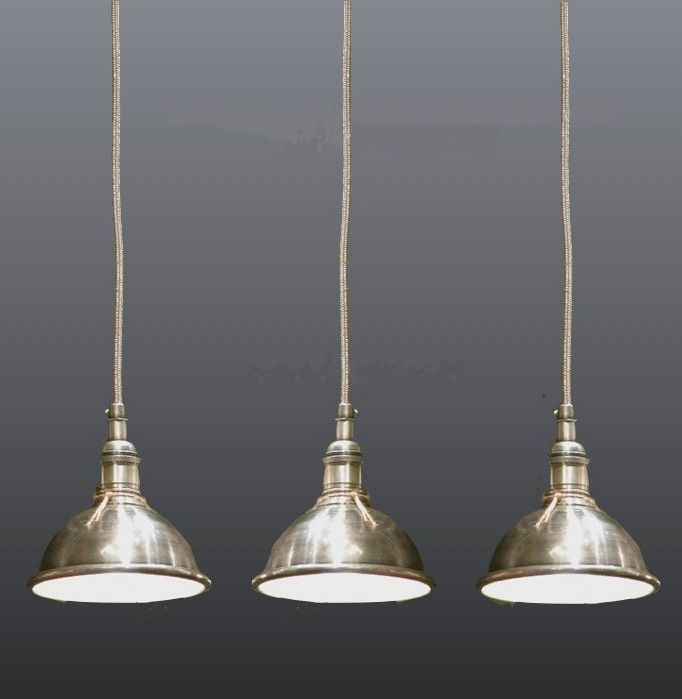 small pendant light nickel