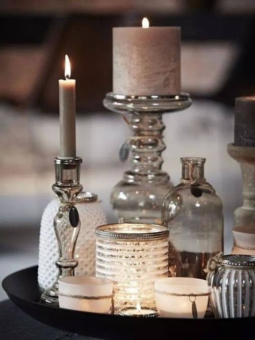 Beautiful candlelight lovingly pinned by