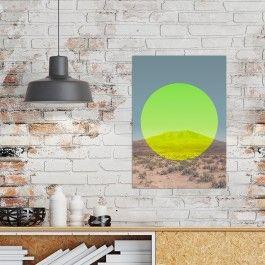 Designprint, Kunstdruck, Wanddeko, Landschaftsposter mit modernem Touch – ohne Rahmen.Das liebevoll gestaltete Poster im Digitaldruck auf Qualitätspapier ist ein hübscher Akzent für deine Wand und das ideale Geschenk für Landschafts-Fanatiker und Fans von aussagekräftigen und bunten Postern.Ein wunderbares Geschenk nicht nur für Designer, sondern auch jeden, der sich für Natur und geometrische Formen begeistert. Das Poster wurde sorgfältig mit frischen Farben gestaltet und kann es kaum…
