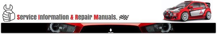 Mitsubishi Workshop and Repair Manual: INDEX WORKSHOP MANUALS