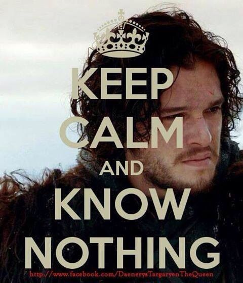 Jon Snow... Mmmmmm