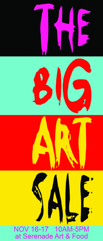The Big Art Sale Poster