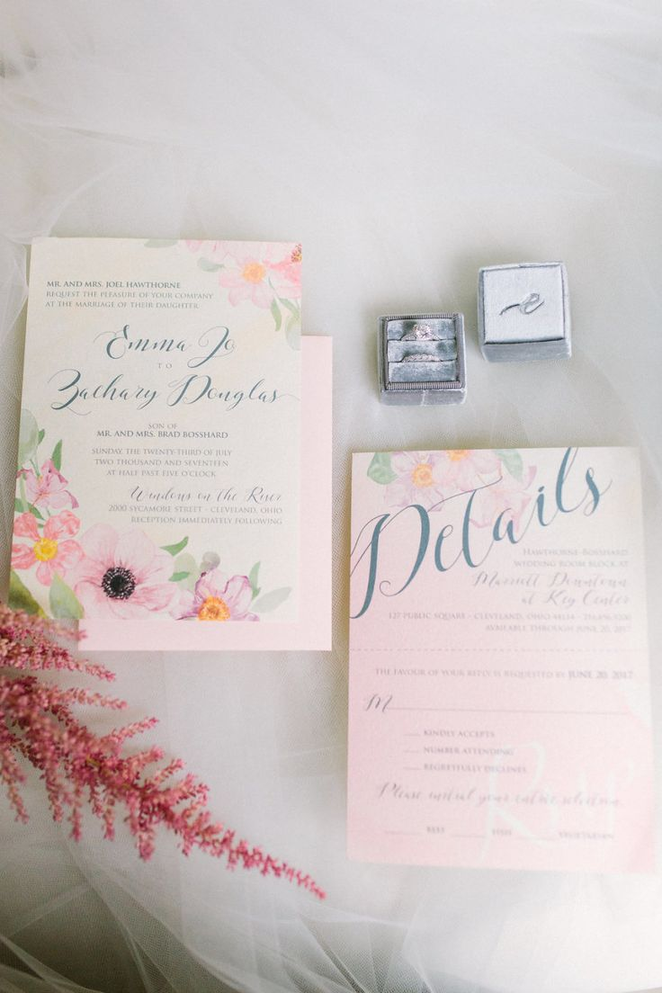 summer fete wedding invitations%0A Chic Cleveland Summer Wedding with Elegant Pastels from Lauren Gabrielle  Photography