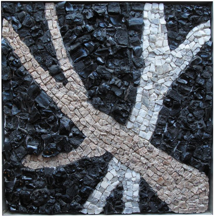 Abstract. The black rocks with the rich texture are collected from Lavrio, Attiki