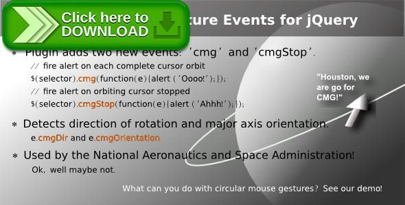 [ThemeForest]Free nulled download Circular Mouse Gesture Events for jQuery from http://zippyfile.download/f.php?id=40404 Tags: ecommerce, circular mouse gestures, cmg events, jquery event api, jquery plugin, mouse events, mouse gestures
