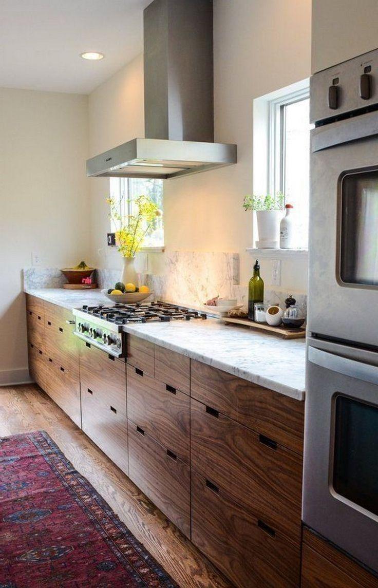 Walnut Kitchen Cabinets Modern