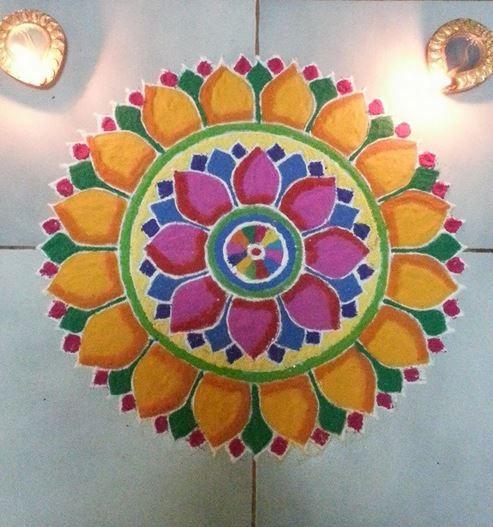 Rangoli Designs Simple