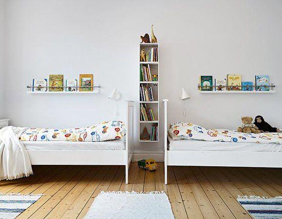 25+ beste ideeën over gedeelde kinderkamers op pinterest, Deco ideeën