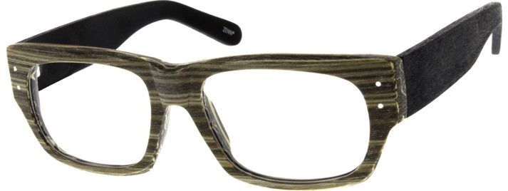 Order online, men wood texture full rim acetate/plastic rectangle eyeglass frames model #661235. Visit Zenni Optical today to browse our collection of glasses and sunglasses.