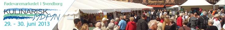 """""""Kulinarisk Sydfyn"""", lokal forening. Afholder hvert år fødevaremarked i Svenborg med danske og tyske udstillere."""