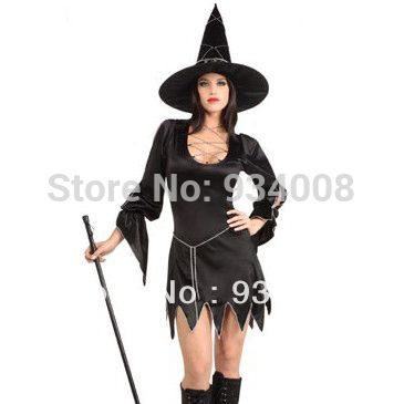 2013 Black Witch Costume Clothes, Halloween Cosplay Witch Costume, Halloween pornographic cosplay costumer  //Price: $ US $17.80 & FREE Shipping Worldwide//       #clothing #fashion #makeup #lips #face #dress #lipstick #style #trend