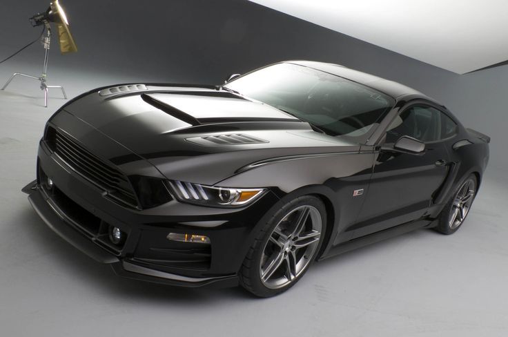 Roush 2015 Ford Mustang Front Three Quarters