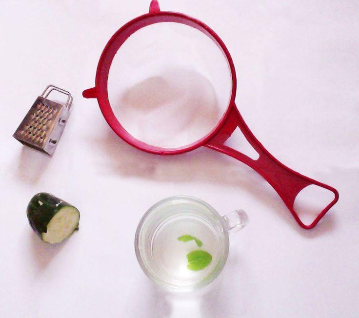guapa natural: Tónico para reducir el tamaño de los poros