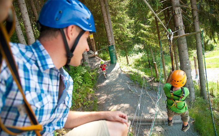 Für Kinder und Familien - Hornpark Kletterpark St. Johann in Tirol - St. Johann in Tirol