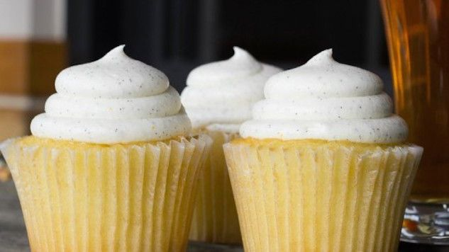 Beer Cupcakes: The Perfect Valentine's Day Gift #Beer #Food #Cupcake