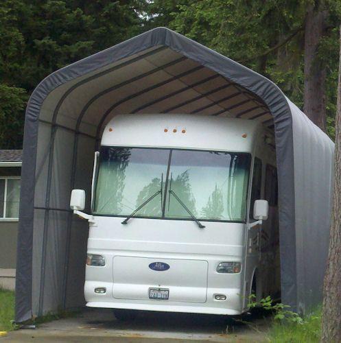 15x40x16 Weather-Shield MotorHome/ RV Portable Garage ...