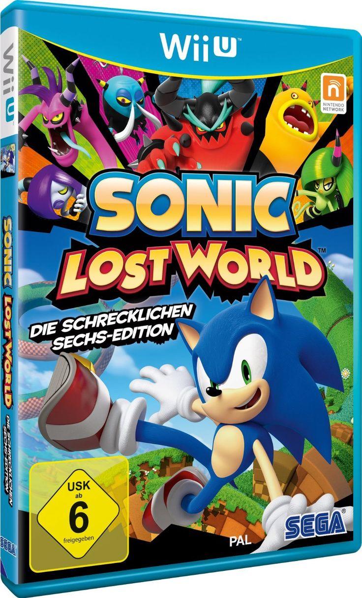 Sonic Lost World - Die Schrecklichen Sechs - Edition - [Nintendo Wii U]: Amazon.de: Games