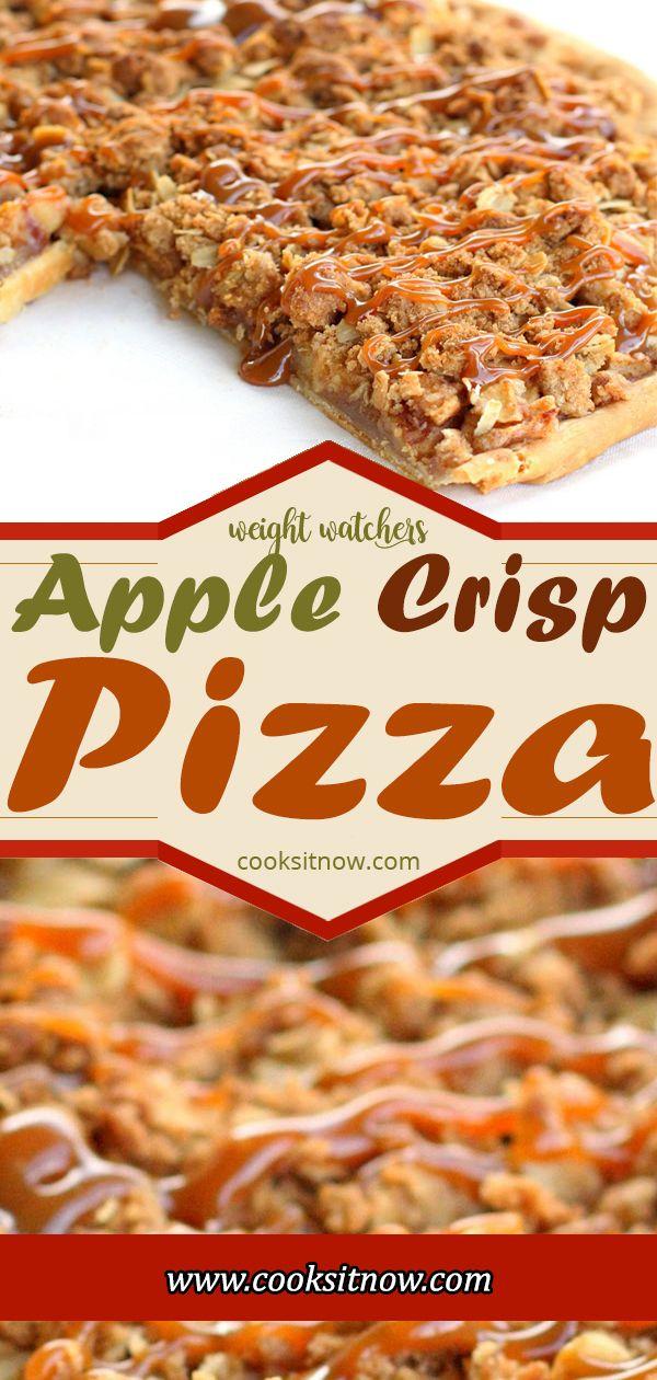Apple Crisp Pizza, is one of my favorite desserts….