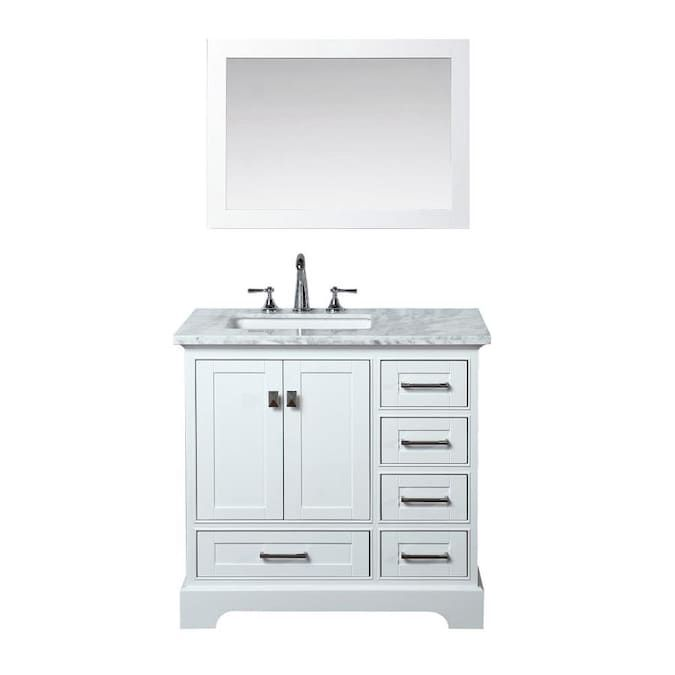 Single Sink Bathroom Vanity, Bathroom Vanities With Tops Single Sink