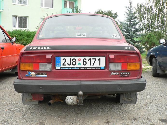Skoda 135 ( 1984 - 1990 )