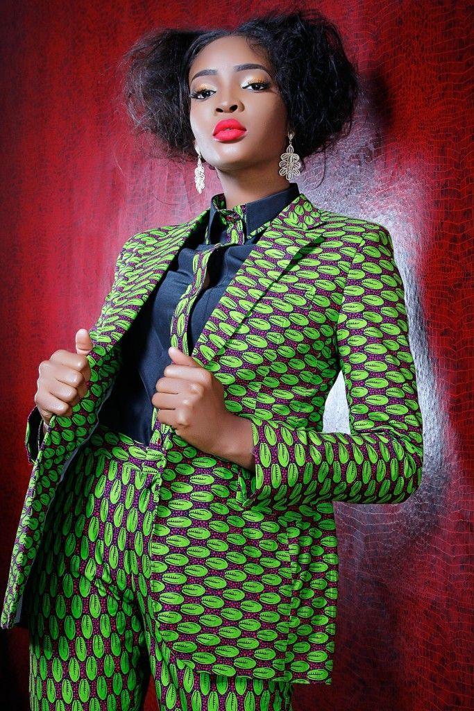 KQ Tailored suit ~African fashion, Ankara, Kente, kitenge ...