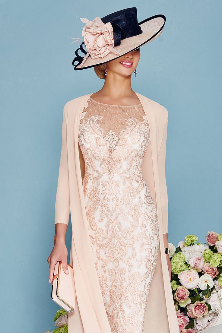 7 best mother of bride dress images on pinterest bride for Dress hats for weddings