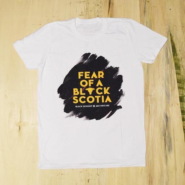 Fear of a Black Scotia Tee #novascotia