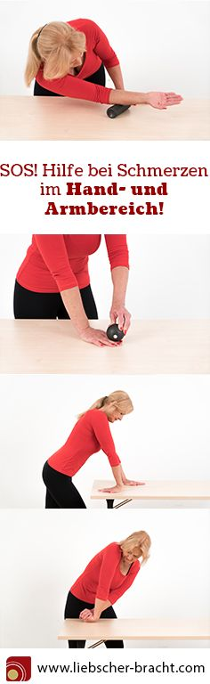 So befreist du dich von Schmerzen in der Hand, im Handgelenk und im Arm! Sehnenscheidenentzündung, Engpassdehnungen, Faszienrollmassagen, Faszientraining