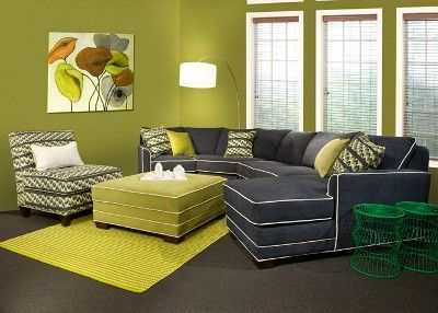 Penny Mustard : Furniture Stores in Chicago and Milwaukee: very cool sectional set up. #sectional