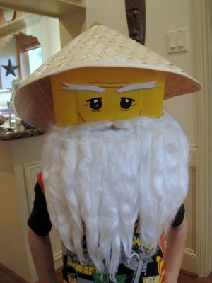 A mama with ideas...: Sensei Who? No, Sensei Wu... duh!.  Cool Ninjago costume