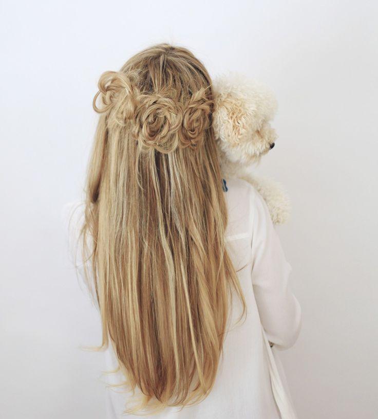 flower-braids-cute-puppy-dog-lover – #flowerbraidscutepuppydoglover