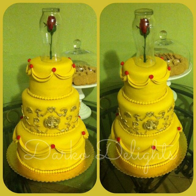 Birthday Cake Beauty And The Beast Image Inspiration of Cake and