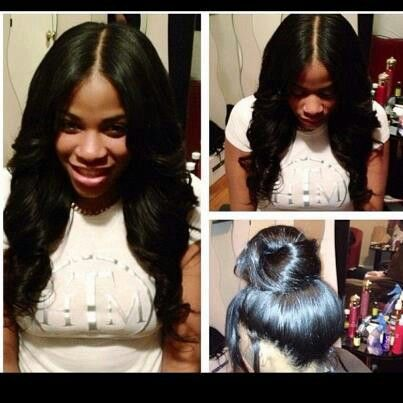 Full-head weave as protective style